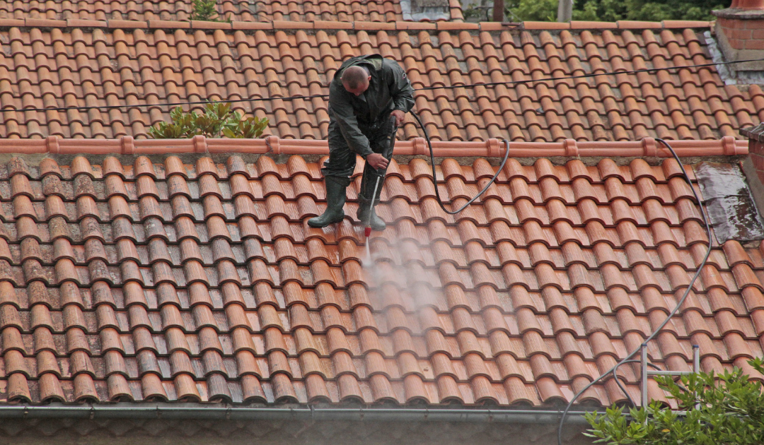 Pressure Washing Roof Tiles | Apple Roof Cleaning